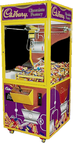 Cadbury Vending Machine