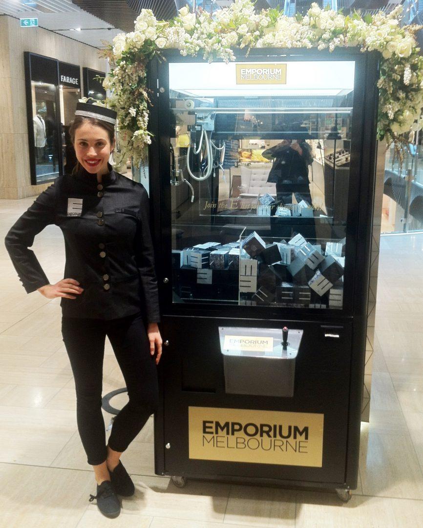 Emporium Melbourne Vending Machine